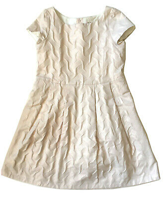 bfc2d66fc69 ... 100% Linen Size 8 Wedding Flower Girl Party Formal.