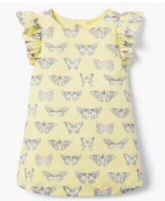 """NWT GIRLS GYMBOREE /""""YELLOW AND BLACK/"""" COLLECTION BUTTERFLY DRESS VAR SIZES"""