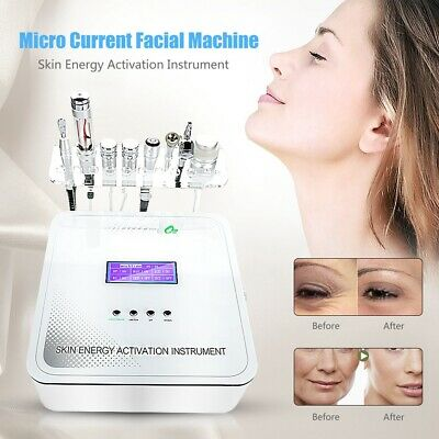 8In1 Dermabrasion RF Hydro Oxygen Water Injection Face Skin Rejuvenation Machine