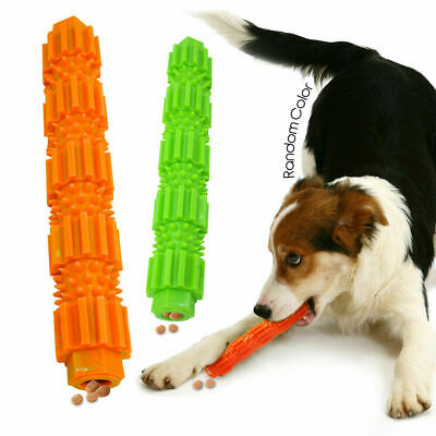 Cute Dog Chew Toys for Aggressive Treat Dispensing Tooth Cleaning Rubber Toy
