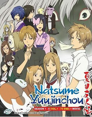 DVD JAPAN ANIME Natsume Yuujinchou Season 1-5 + 2 OVA Complete Box