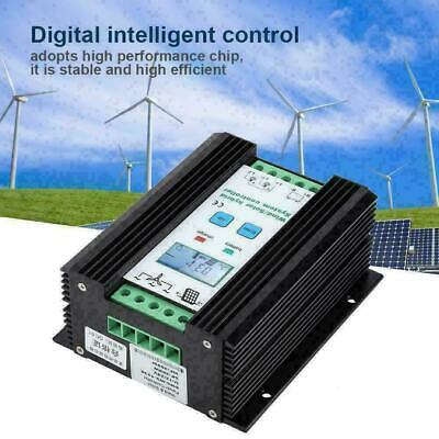 Wind and Solar Waterproof Power Hybrid Charge Controller 12V/24V Digital Control