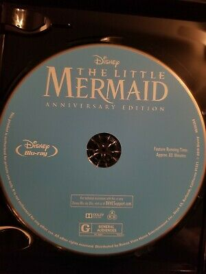 The Little Mermaid Blu-ray Disc Only DVD Anniversary Edition