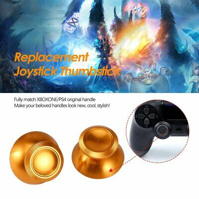 Metal Replacement Joystick Thumbstick Thumb Stick for PS4 Xbox One Controller AZ