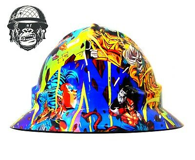 Custom Hydrographic Wide Brim Safety Hard Hats DRAGON BALL Z WIDE