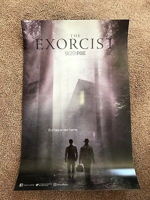 2017 Sdcc Comic Con Exclusive Fox The Exorcist 11X17 Poster!!