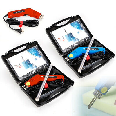 250W Electric Hot Knife Styrofoam Foam Cutter Tool Kit with Blades+Carrying Case
