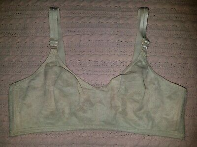 586279b741afb Vintage WARNERS Hidden Powers 1046 Bra Wirefree Floral Lace Blush Beige 38D