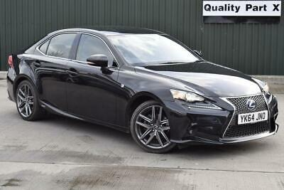 2014 Lexus IS 300 2.5 F Sport E-CVT 4dr
