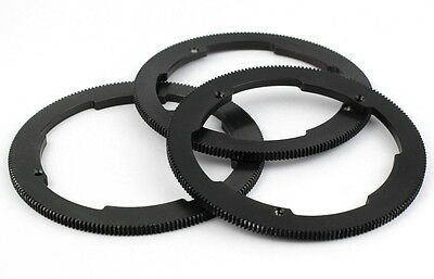 3x Follow Focus 360 Degree 97mm O.D. Rings Lomo Arri Zeiss Angenieux Cooke