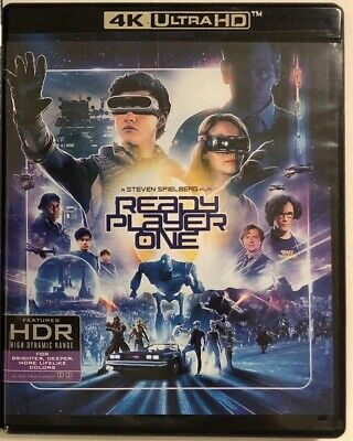 Ready Player One 4K Ultra Hd Blu Ray 2 Disc Set Free World Wide Shipping Buy It