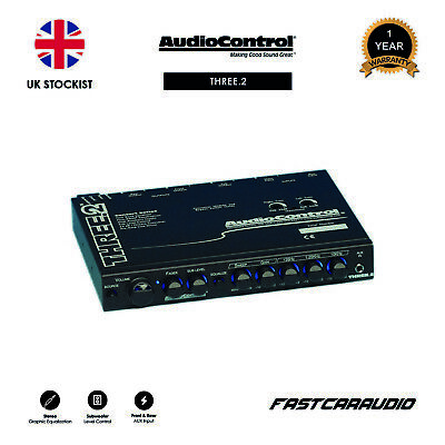 AudioControl THREE.2 - In-Dash Car Audio Equalizer, Crossover, Line Driver