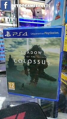 Jeu Shadow of the Colossus Ps4 Promo Disk neuf : brand new