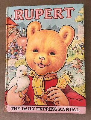 Vintage Rupert Daily Express Annual 1981 - Unclipped - Priced £1.80