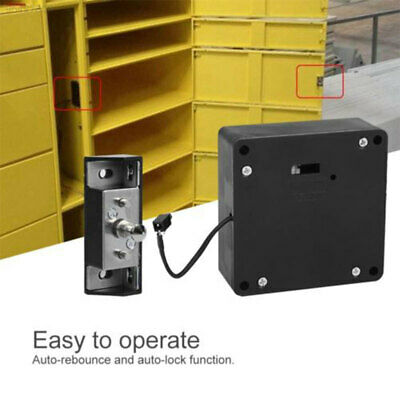 8AE5 Invisible Lock Without Hole Cabinets Universal Durable Smart Cabinet Lock