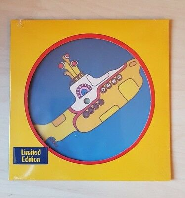 The Beatles Yellow Submarine Limited Edition Picture Disc Vinile 7'' 45 Giri