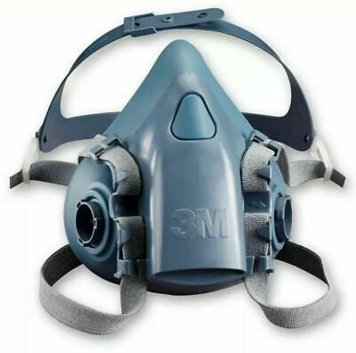 + 3M 7500 Series Reusable Half Face Masks Respirator Dust Mask - Large 16,6