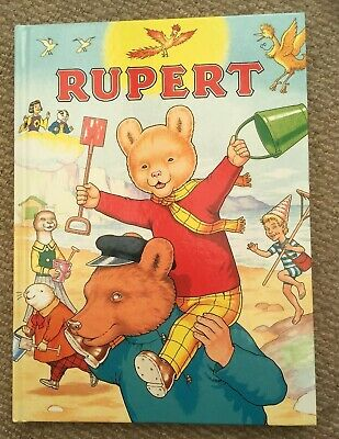 Vintage Rupert Annual 1994 Very Good Condition Price Unclipped £4.99