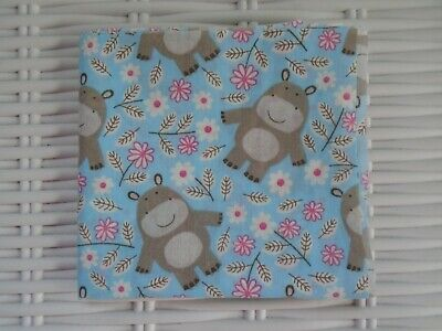 Bear Fabric Polycotton  Fabrics Material Crafting Home Decor Bears Craft Quilt