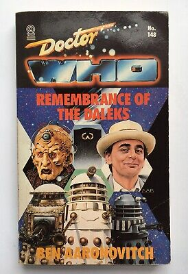 Doctor Who - Remembrance of the Daleks - Target 148 - 1st Edition