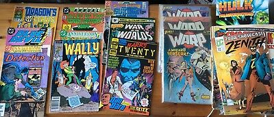 25 + Comic Books Job Lot Collection Green Lantern Suicide Squad Warp Hulk