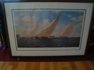 Signed Numbered Lithograph by John Steven Dews