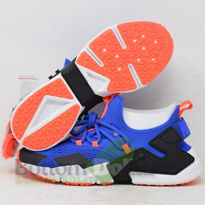 e6734d3bbd11 Nike Men s Air Huarache Drift Racer Breathe Shoes Blue-Black AO1133-400 (9