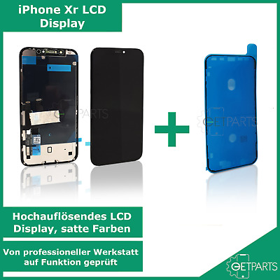 Refurbished Original iPhone Xr LCD Display Schwarz Black Digitizer Screen