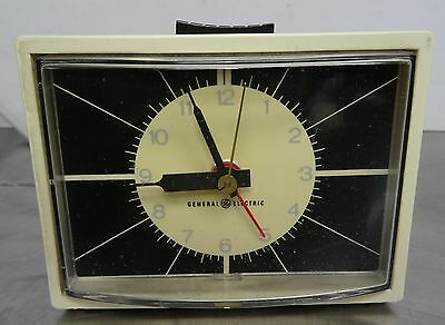 mid century design - General Electric Uhr elektromechnischer Wecker ~60er