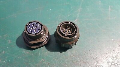 12 Pin Circular Connector Male & Female Military Part