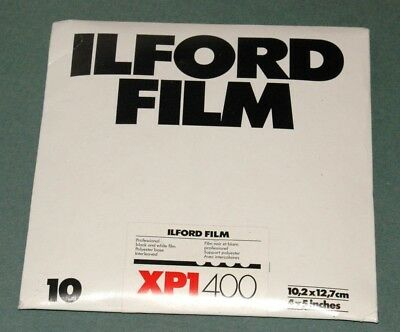 Ilford Xp1---4X5 Film--- Collectible!