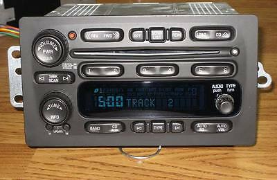 ACDELCO / GM 15917881 Radio Assembly/ 6 Disc Cd Changer