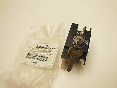 SEES DKS-40 key switch car call register HI848 KEY