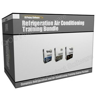 P2 Refrigeration and Air Conditioning HVAC Training Course Bundle