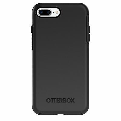 NEW Genuine OtterBox Symmetry Rugged Slim Case Apple iPhone 7 Plus 8 Plus BLACK