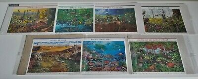 """The First Seven """"Nature of America"""" Stamp Collections"""