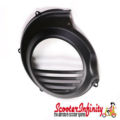 Flywheel Cowling/Cover (Electric Start Vespa PX) (Black)