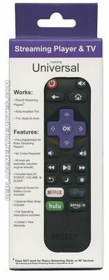 New Replacement Remote Control for Roku 1 2 3 4 Express Premiere Ultra w 4 APP