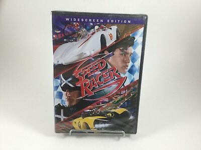 Speed Racer (Widescreen Edition DVD New/Sealed.