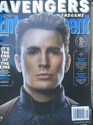 Entertainment Weekly Magazine (Apr 2019) Avengers End Game - Captain America