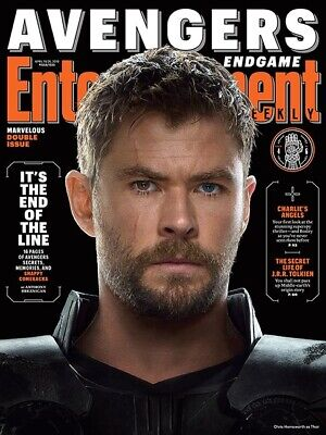 Entertainment Weekly Magazine (Apr 2019) Avengers End Game - THOR; NEW