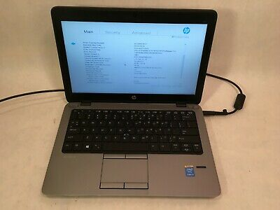 "HP EliteBook 820 G1 12.5"" Laptop Intel i5-4210 1.7GHz NO RAM / HDD / OS - RR"