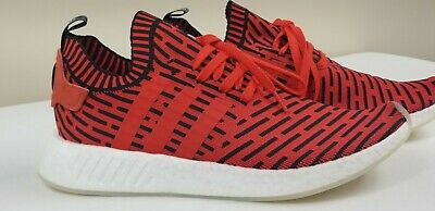 fd3703db6 New Men s Adidas Nmd R2 Core Red Core Black Footwear White Bb2910 Size 12.5