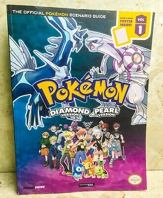 POKEMON: PEARL & DIAMOND - OFFICIAL GAME GUIDE - Nintendo DS Game Strategy Book
