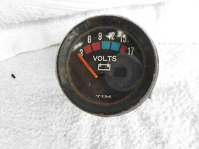 voltmeter fits BMW airheads