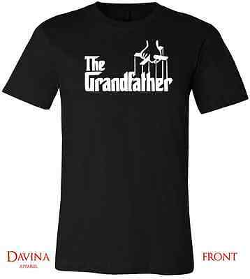 THE GRANDFATHER TSHIRT Funny Family Grandpa TEE Awesome Grand Father shirt S-XL