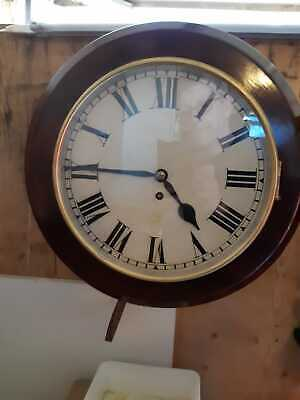 Antique, Fusee Dial Clock