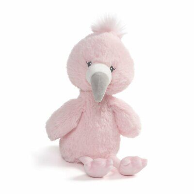 Gund E9 Baby Girl Stuffed Plush Toy Toothpick Flamingo 12in 6050668