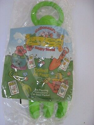 McDONALD'S UK BRITAIN in BLOOM scarce free gift premium Happy Meal toy RARE MIP