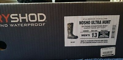 buy popular bb23d bcd6a DRYSHOD NOSHO ULTRA Hunt Men's Cold-Conditions Hunting Boot ...